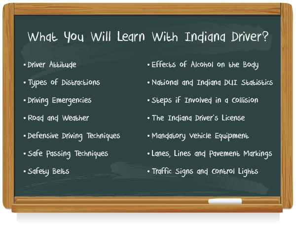 Learn with Indiana driver